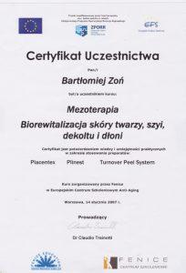 szkolenia z mezoterapii dr Zoń